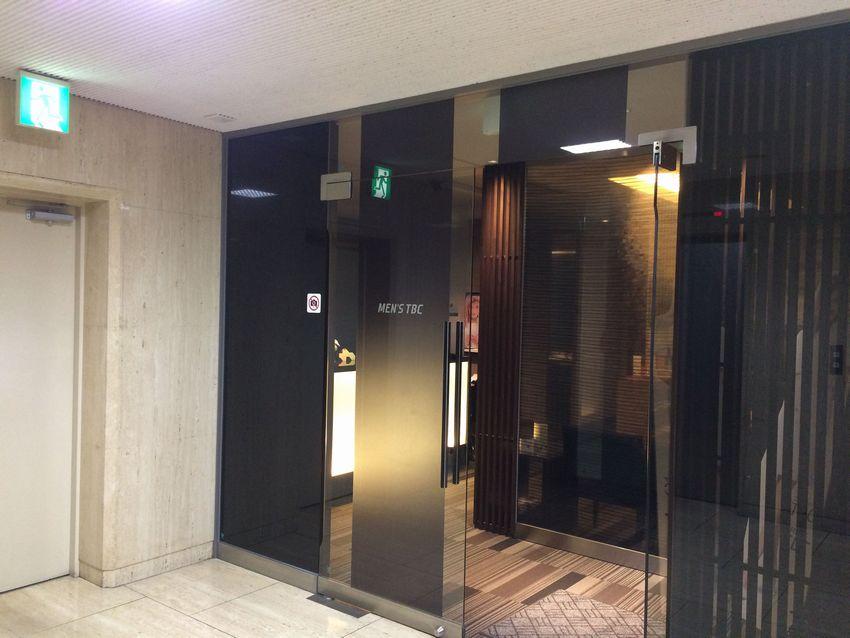 メンズTBC新宿本店の入口