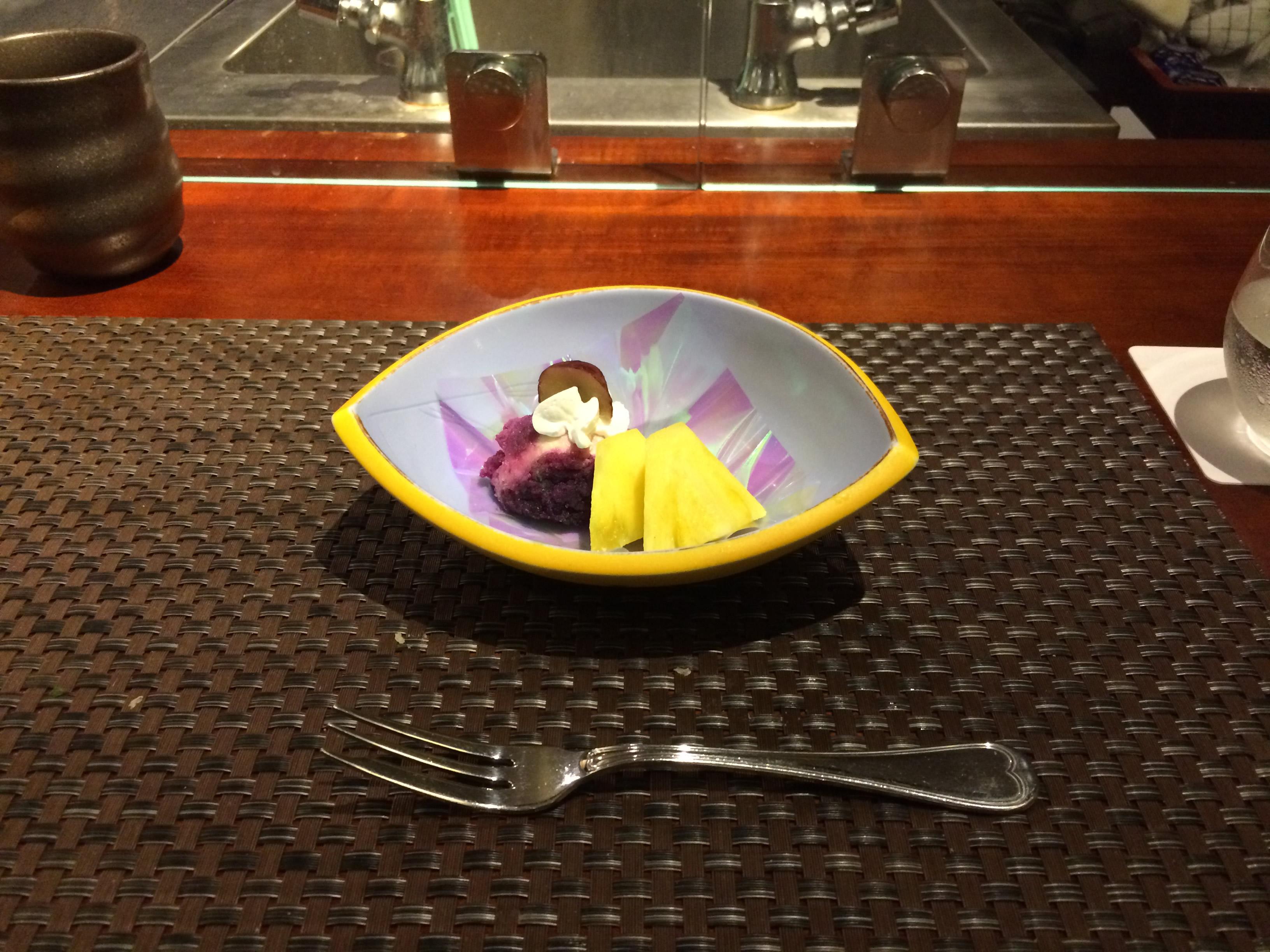夕食 デザート1