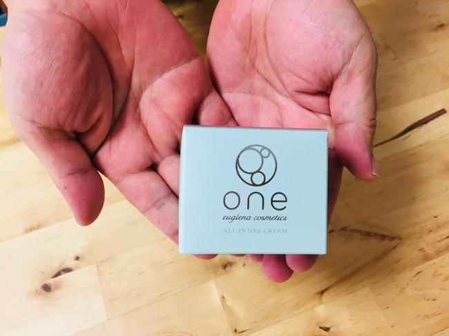 「one オールインワンクリームST」のパッケージ