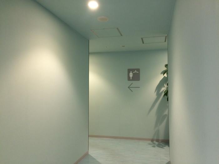 更衣室は雰囲気ががらりと変わるなぁ