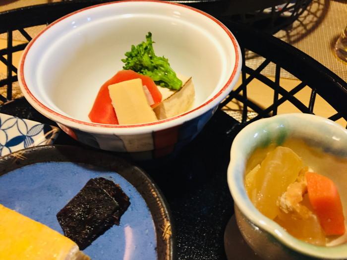 箱根湯宿 然-ZEN-の朝食の煮物