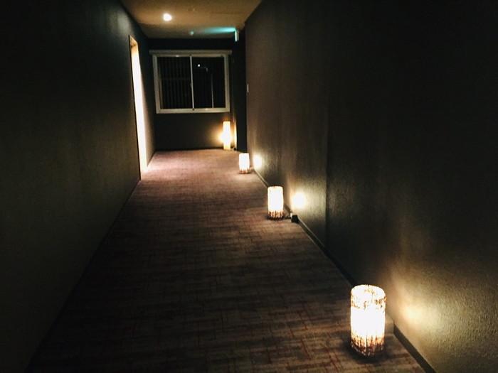 箱根湯宿 然-ZEN-の廊下