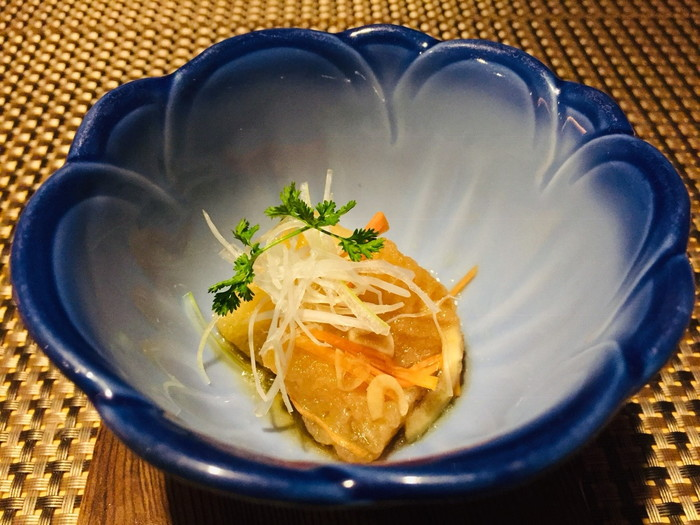 箱根湯宿 然-ZEN-の夕食の先付け