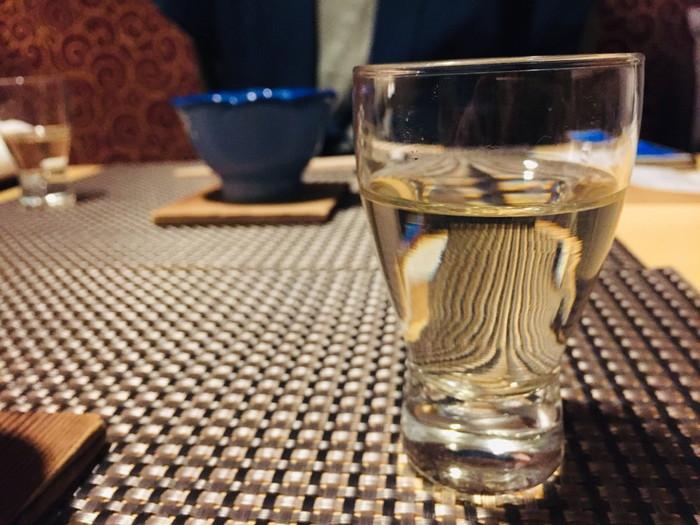 箱根湯宿 然-ZEN-の夕食の食前酒