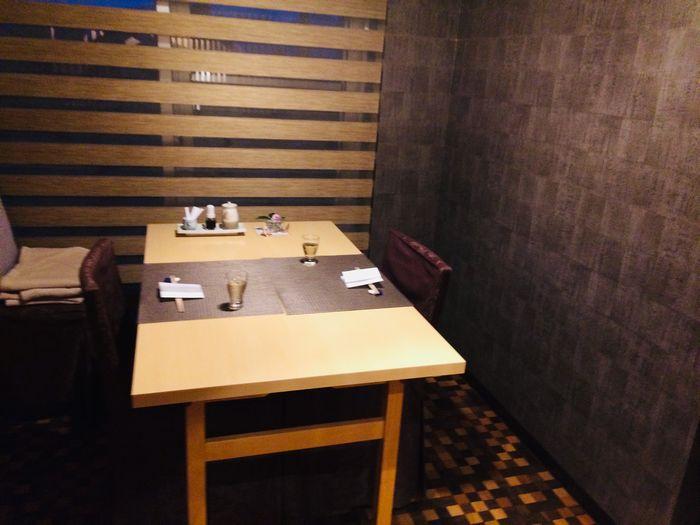 箱根湯宿 然-ZEN-の食事をする場所