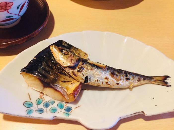 箱根湯宿 然-ZEN-の朝食の魚