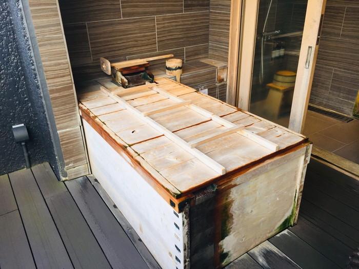 箱根湯宿 然-ZEN-の露天風呂1