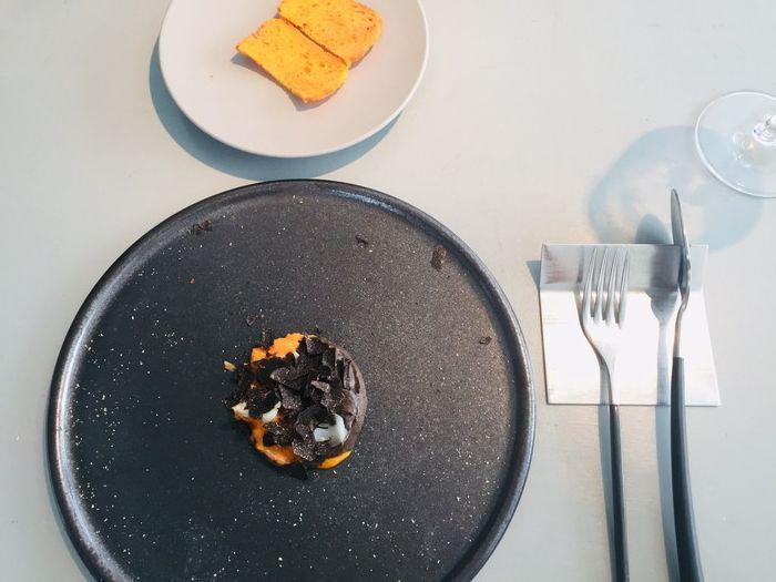 クラフタル (CRAFTALE)のランチ「卵・カニ・トリュフ」の全体像