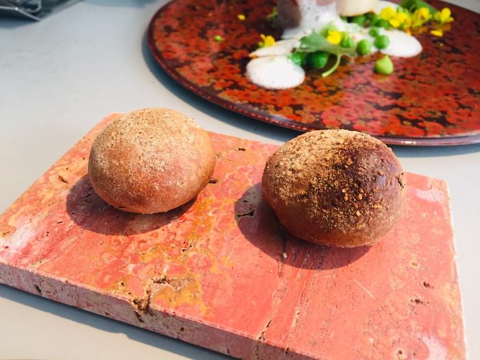 クラフタル (CRAFTALE)のランチ「メイン」のパン