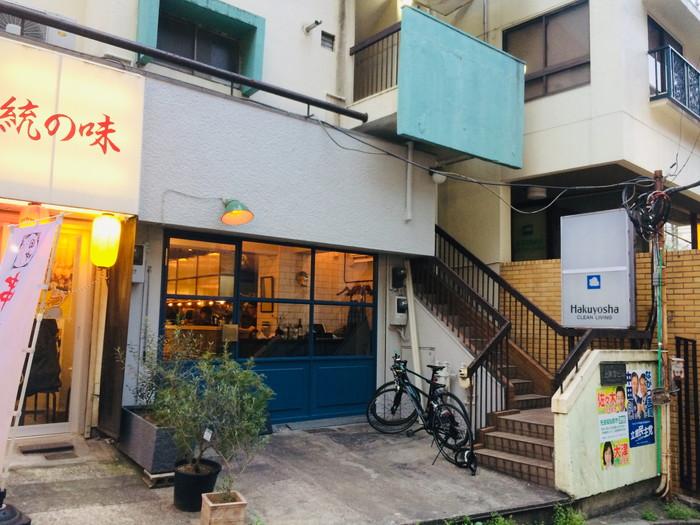モダンフレンチレストラン「sio(シオ)」の外観