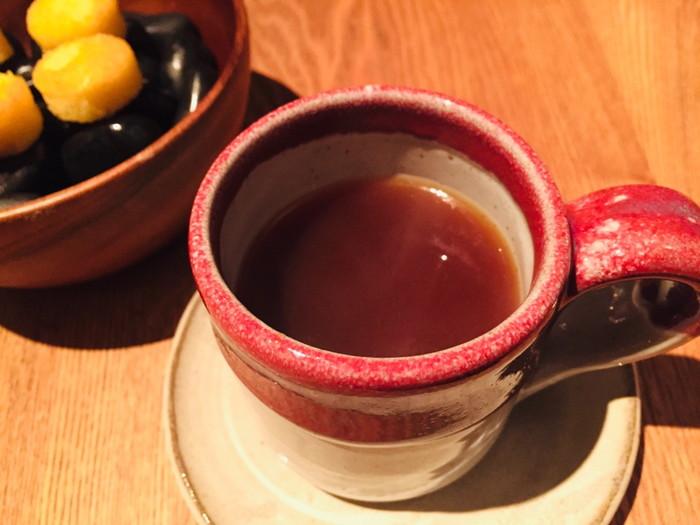 モダンフレンチレストラン「sio(シオ)」のコーヒー