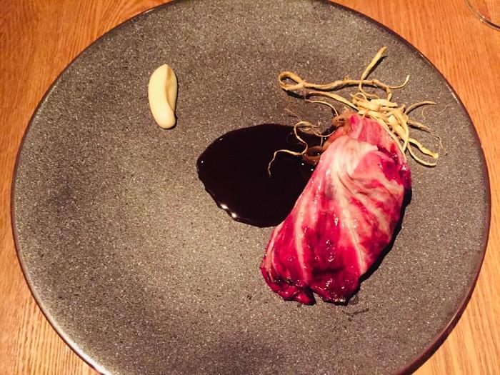 モダンフレンチレストラン「sio(シオ)」のメイン(和牛)