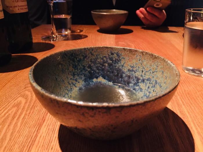 モダンフレンチレストラン「sio(シオ)」のスープ1