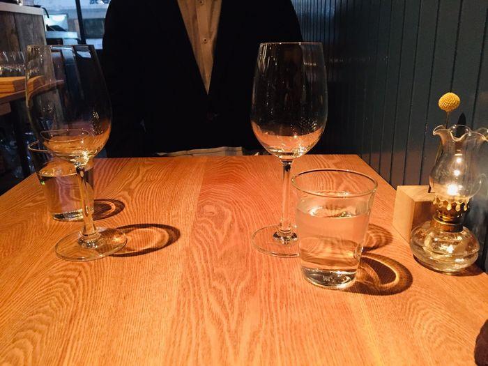 モダンフレンチレストラン「sio(シオ)」のテーブルセッティング