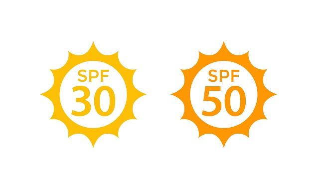 SPF30と50